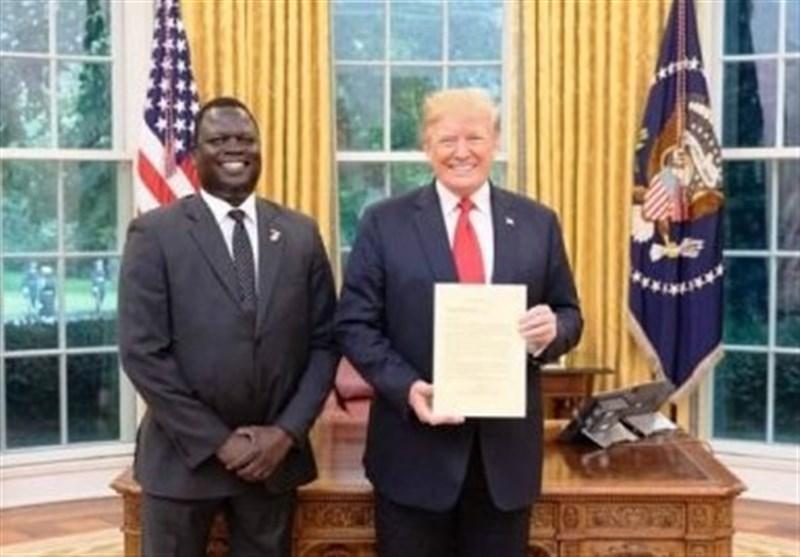 سودان جنوبی سفیر خود را از آمریکا فراخواند