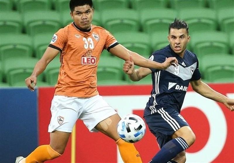 لیگ قهرمانان آسیا، شکست خانگی میزبان تایلندی برابر حریف چینی
