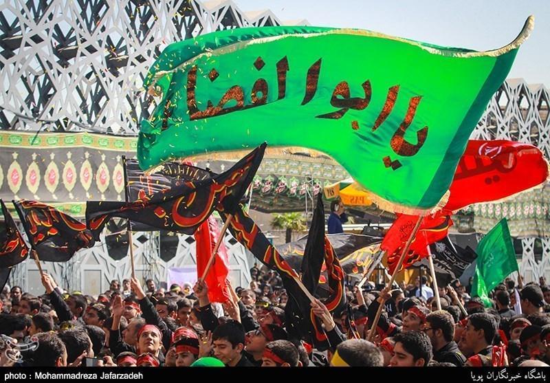 جلوه های عاشورا در تابلوهای تبلیغات شهری اصفهان، بچه ها معلول اصفهانی گردشگر شدند