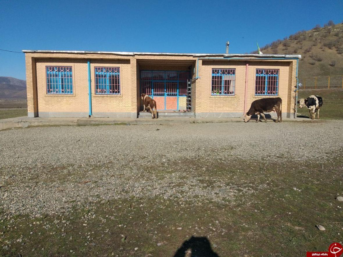 مدرسه بدون حیاط در روستای صفر مرزی میرآباد