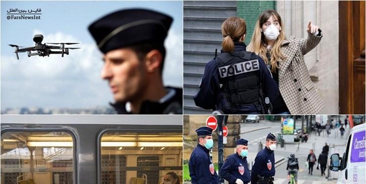 کرونا ، هشدار فرانسه به شهروندانش؛ از خانه بیرون بیایید، بازداشت می شوید
