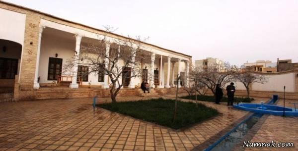 جاذبه گردشگری و بنای تاریخی عمارت باغ امیر سمنان