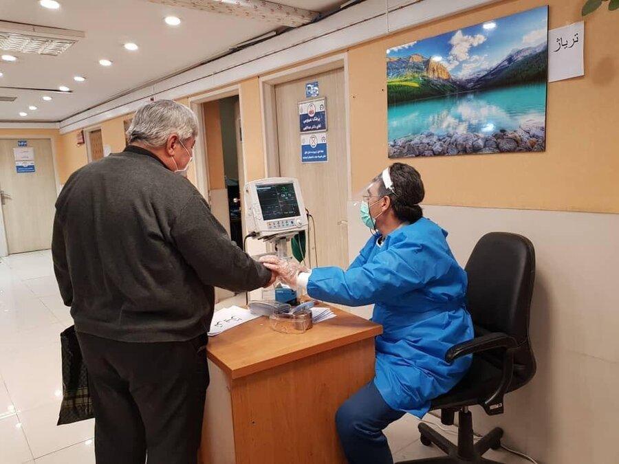 راه اندازی تریاژ ویژه برای بیماران مشکوک به کرونا در یک مرکز درمانی شهرداری تهران