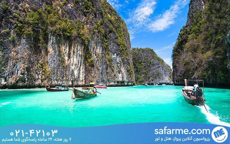 جزایر فی فی محبوب ترین جزایر تایلند