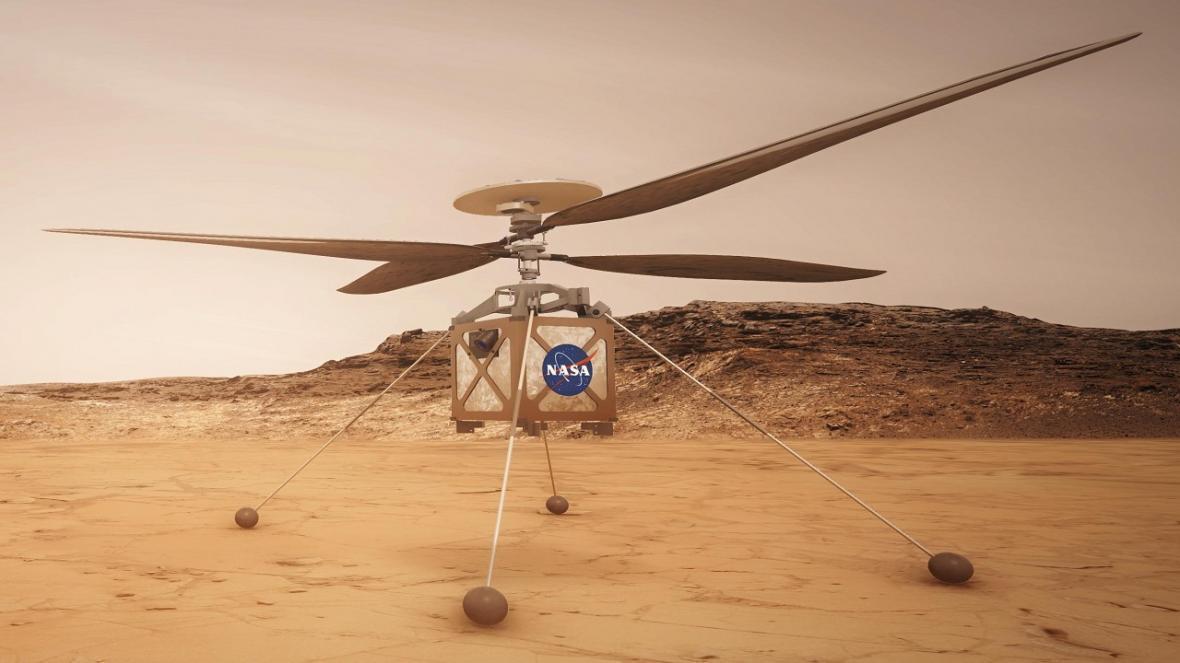 آزمایش چرخ بال مریخی بر روی زمین