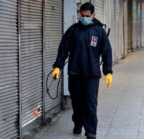 گندزدایی و ضدعفونی اماکن عمومی در اهر