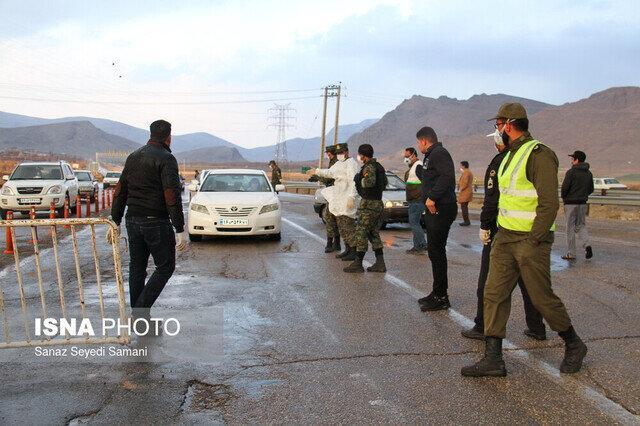 برگرداندن 3500 خودرو ورودی های شهری استان سمنان