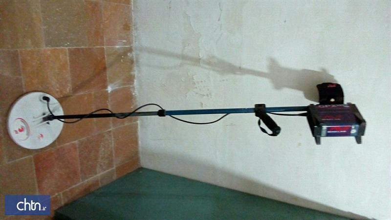 کشف و ضبط یک دستگاه فلزیاب در شهرستان لارستان