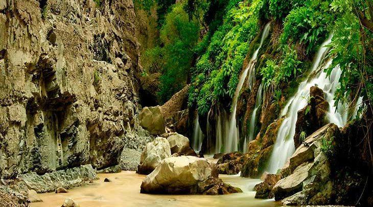 آبشار هفت چشمه استان البرز