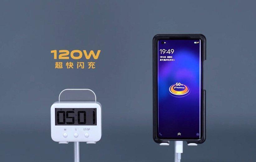 برند IQOO از فناوری شارژ سریع 120 وات رونمایی کرد