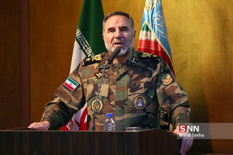 امیر حیدری: تحرک رزمی نیروی زمینی ارتش به 95 درصد رسیده ، اقدامات نزاجا باید از فضای مجازی منتشر شود