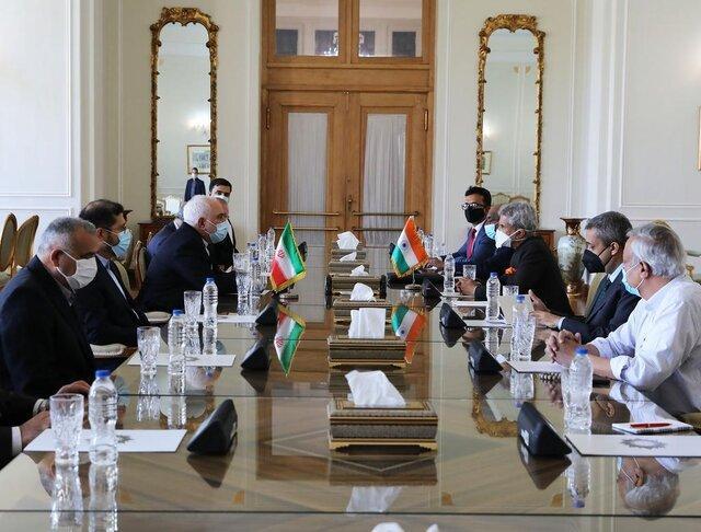 گزارش توییتری خطیب زاده از ملاقات امروز وزرای خارجه ایران و هند