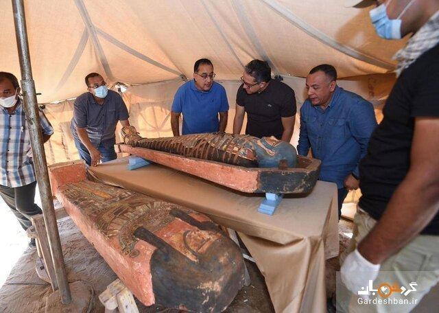 کشف مجموعه جدید تابوت های باستانی در مصر