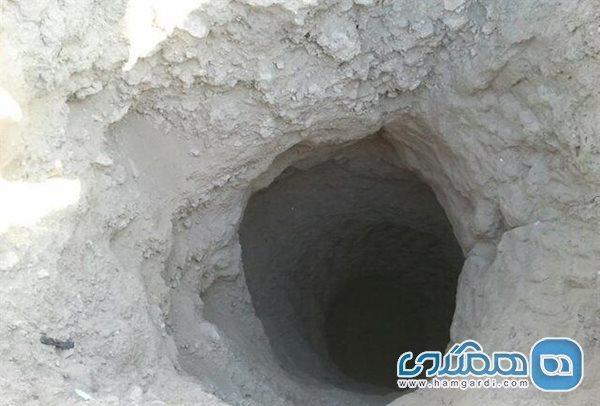 حفاری غیرمجاز در عمق 20 متری یک چاه