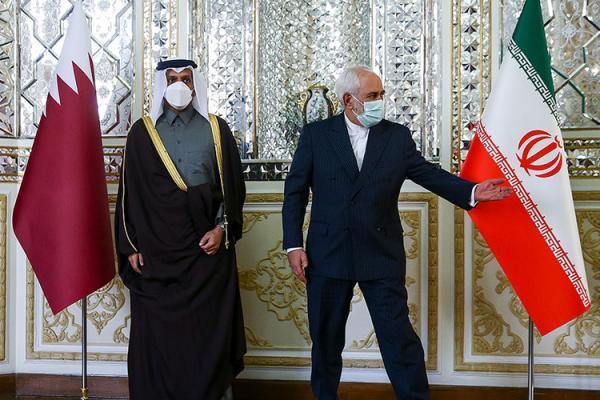 در ملاقات ظریف با وزیر خارجه قطر چه گذشت؟