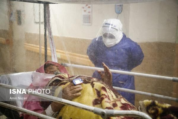(تصاویر) بیمارستان گنجویان دزفول در شرایط قرمز