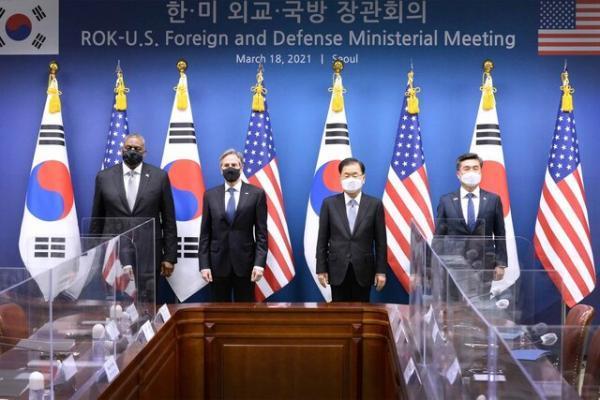 هشدار رئیس پنتاگون به کره شمالی