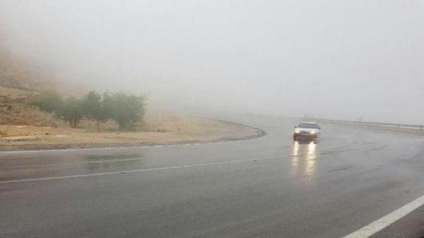 بارش باران در محور های مواصلاتی استان سیستان و بلوچستان، لغزندگی سطح جاده ها