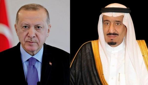 تماس تلفنی اردوغان با شاه سلمان