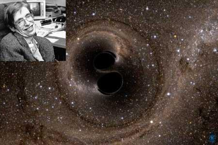 قضیه سیاه چاله استیون هاوکینگ تائید شد