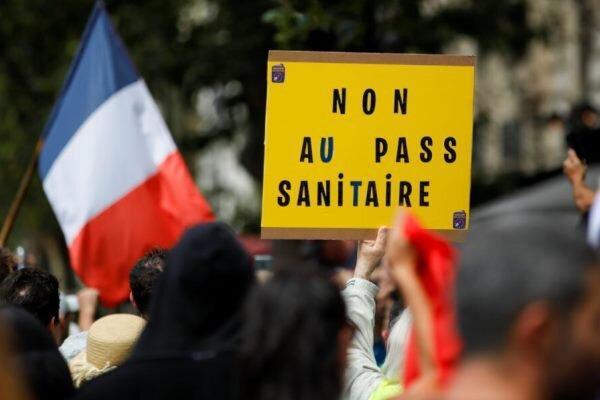 تظاهرات علیه محدودیت های کرونایی در فرانسه، 13 پلیس زخمی شدند