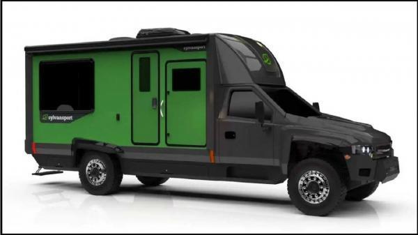 ساخت کامیونت تفریحی الکتریکی با برد 400 مایلی