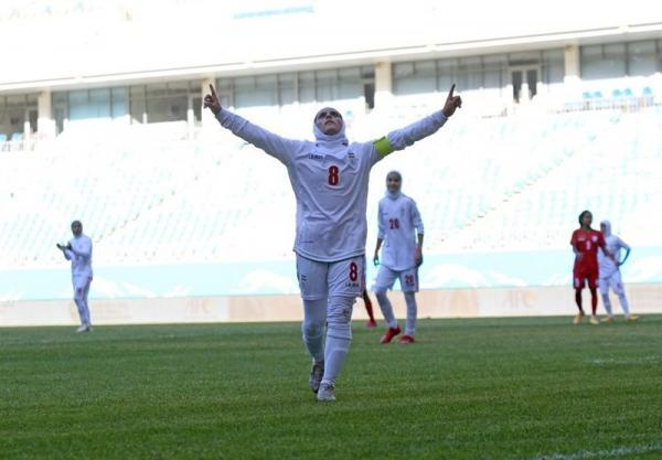 مقدماتی قهرمانی آسیا، پیروزی پرگل تیم ملی فوتبال بانوان برابر بنگلادش
